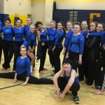 Chicopee Comprehensive High School Girls Varsity Gymnastics finishes 2nd place