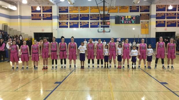 Girls Basketball Raising Money for a Good Cause