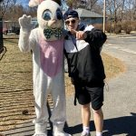Boys Lax Helps at Parks and Rec Easter Egg Hunt