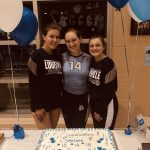 Lady Leps Volleyball Celebrate Senior Night with a 5 game thriller Win over Tallmadge