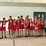 Boys JH Cross Country wins the NWOAL Championship