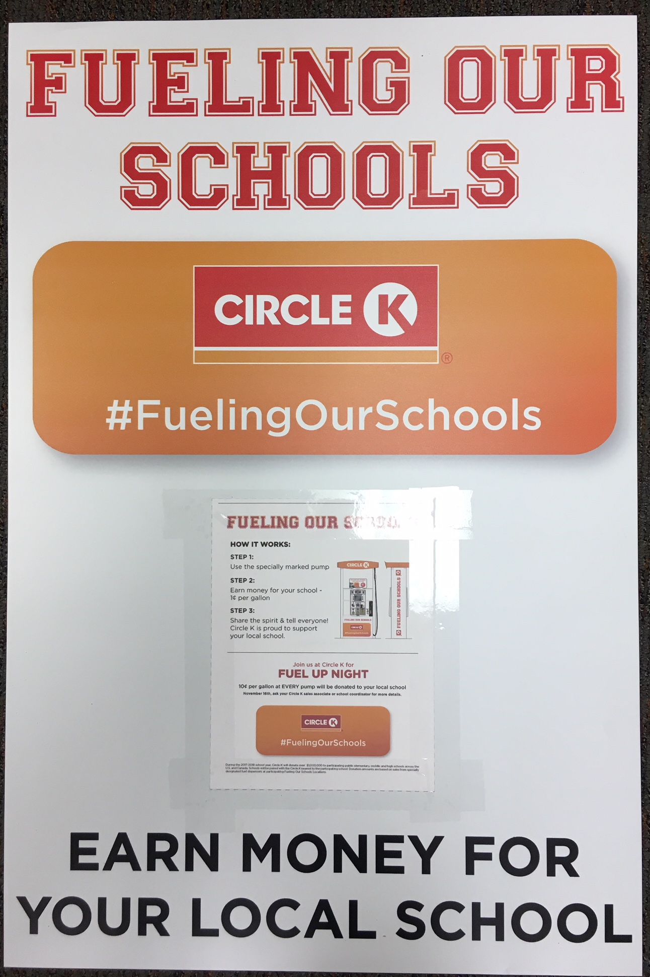 Circle K – Fueling Up Our Schools National Fuel Up Night – April 19