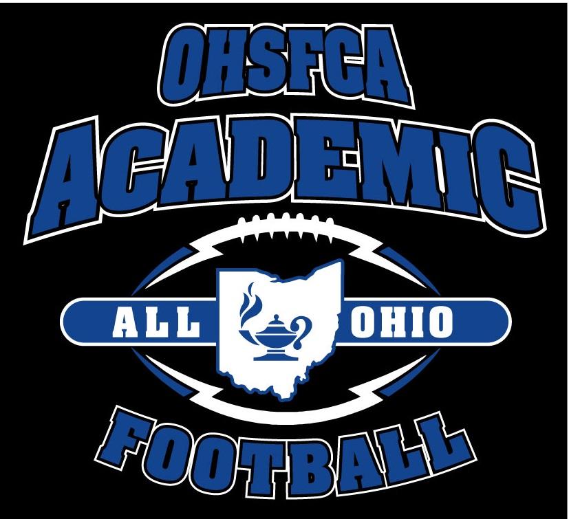 Varsity Football, Everett Bueter, & Owen Newlove named Academic All-Ohio