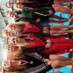Girls Varsity Swimming finishes 4th place at OHSAA District Swimming