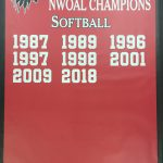 Softball wins the NWOAL Championship
