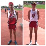 Kyle Vernot and Josh Lowry place at State Track