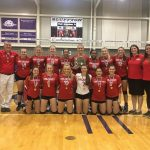 Volleyball wins the District Championship