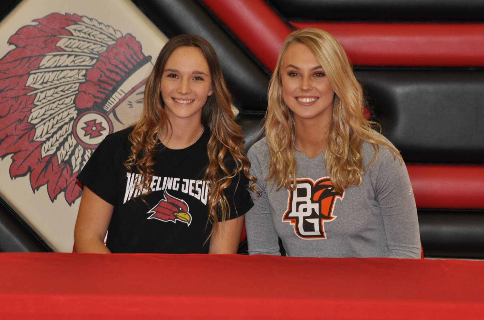 Two Athletes Commit to Pursue College Athletic Careers