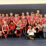 Boys Middle School Wrestling finishes 1st place at Montpelier Invitational
