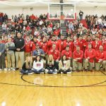 2018 Wrestling Team Duals State Champions receive rings
