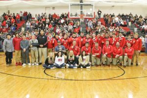 2018 Wrestling Team Duals State Champions Ring Ceremony