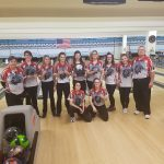 Girls Varsity Bowling finishes 1st place at Glass City High School Tournament