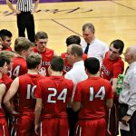 Boys Varsity Basketball beats Maumee 64 – 55