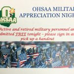 Military Appreciation Night – January 18