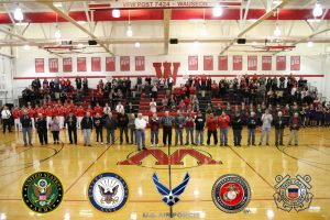 OHSAA Military Appreciation Night
