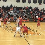 Boys Varsity Basketball beats Liberty Center 58 – 42