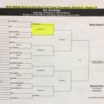 OHSAA Team Duals Wrestling Regional bracket