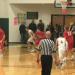 Boys Varsity Basketball beats Evergreen 66 – 43
