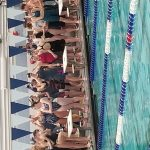 Girls Varsity Swimmin has many top finishes at Sectional meet. Many swimmers earn District spots.