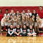 Girls Varsity Basketball beats Clyde 56 – 44 to win the Sectional Title