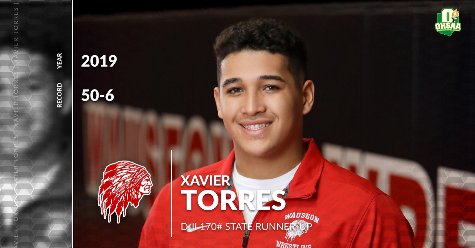 Xavier Torres – State Wrestling Runner-up