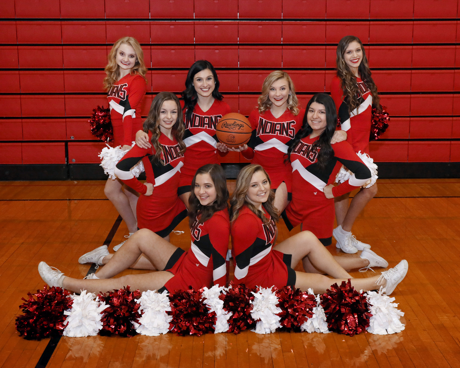 Basketball Cheerleaders take the lead in the Varsity Academic Cup standings