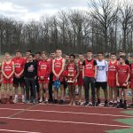 Boys Middle School Track finishes 1st place at Tomahawk Track and Field Invitational