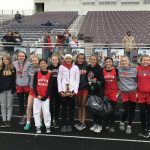 Girls Middle School Track finishes 3rd place at Napoleon Middle School Invitational