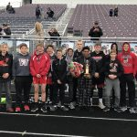Boys Middle School Track finishes 2nd place at Napoleon Middle School Invitational