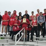 Boys Middle School Track finishes 1st place at Liberty Center Middle School Invite