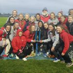 Girls Varsity Track finishes 1st place at John Ramsey Royal Invitational