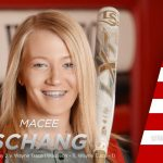 Macee Schang pitches no-hitter vs. Wayne Trace