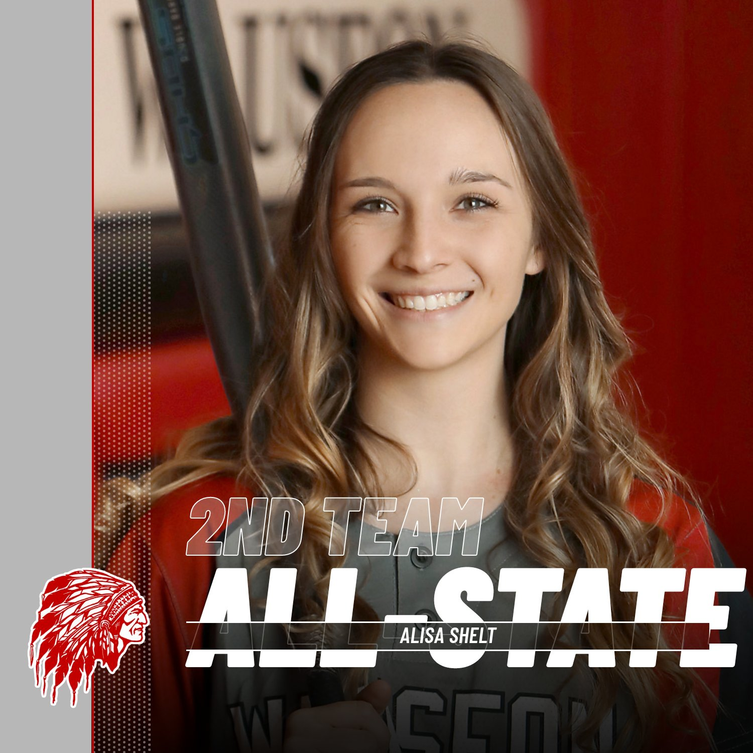 Alisa Shelt named 2nd Team All-State