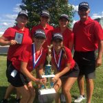 Girls Varsity Golf finishes  first place at Lady Locos Golf Invitational