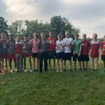 Boys Varsity Cross Country finishes 1st place at Early Season Hudson Invitational