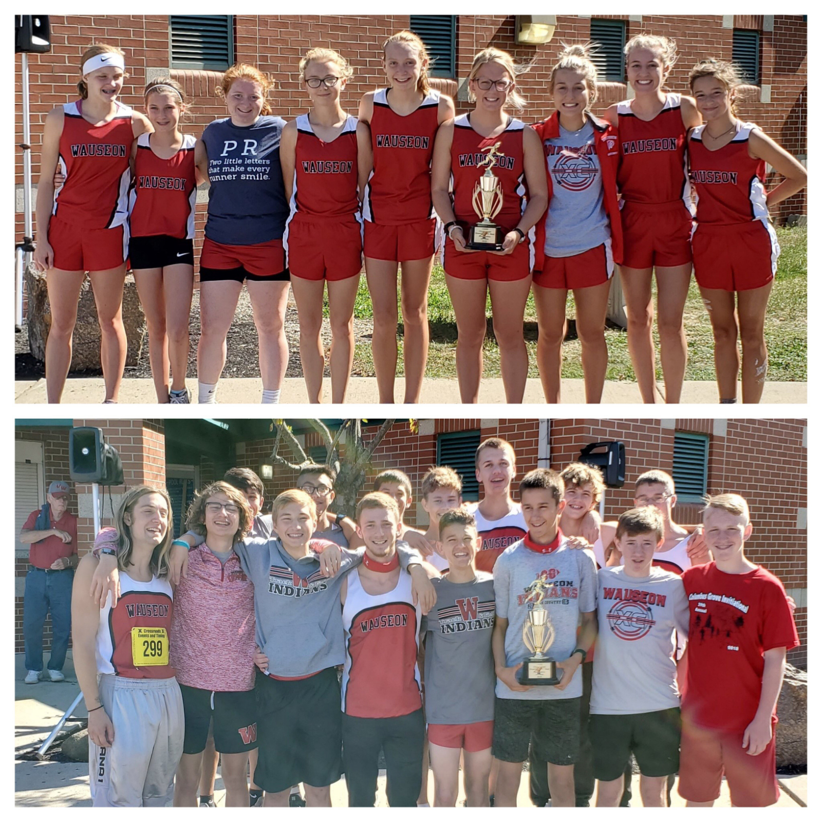 Girls & Boys Cross Country Teams each win the O-G Invite