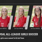 All-NWOAL Girls Soccer