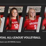 All-NWOAL Volleyball