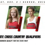 Two Cross Country runners heading to State