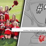 Football Cheerleading leading the Academic Cup standings