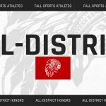 Several Fall Athletes Earn All-District Honors for 2020