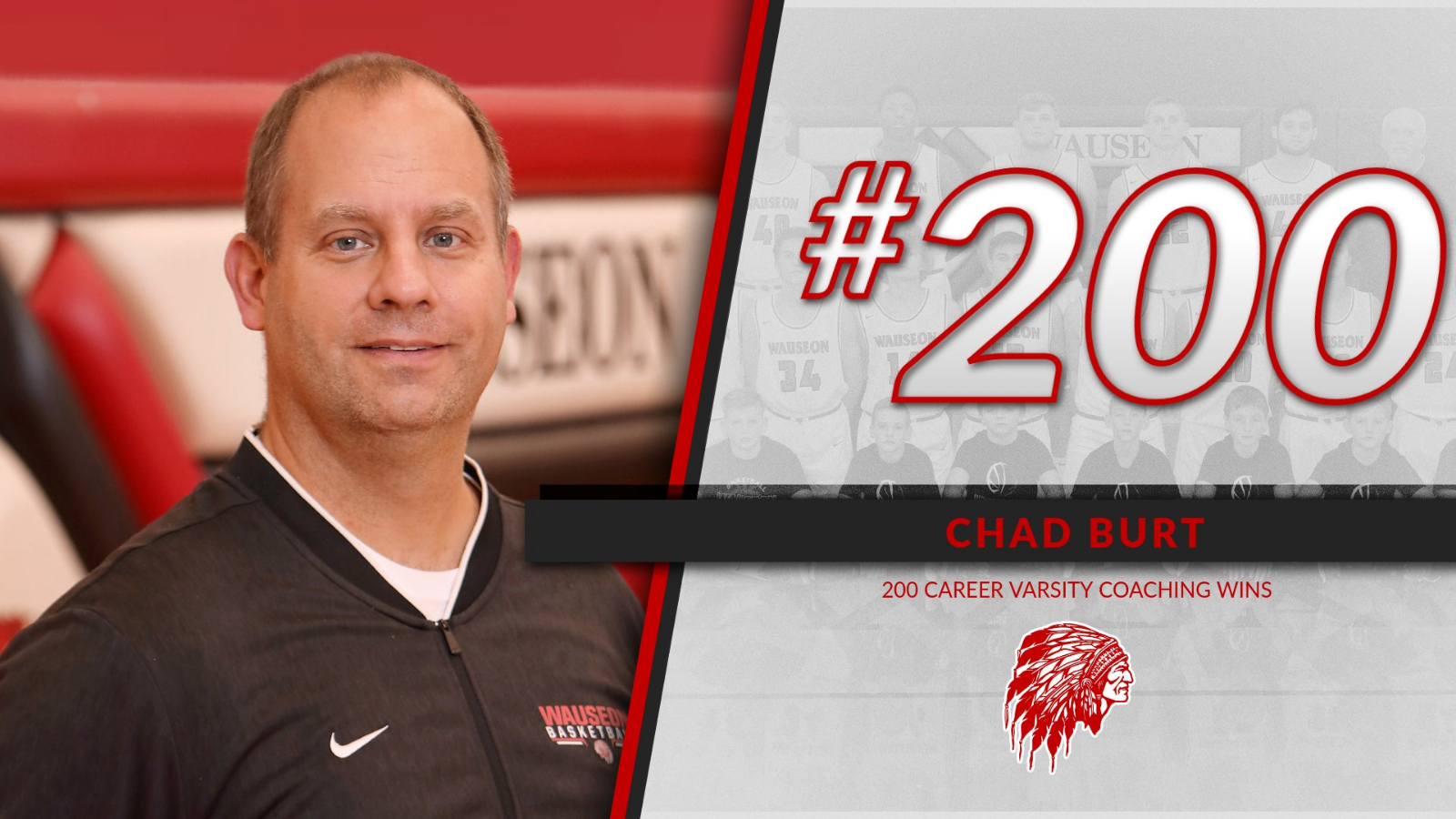 Chad Burt gets career win #200