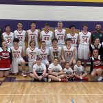 Boys Freshman Basketball beats Liberty Center 39 – 21 to claim the NWOAL title.