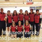 Girls Varsity Bowling finishes 2nd place at OHSAA Sectionals