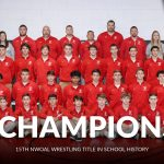 Wrestling team wins 4th straight NWOAL title