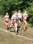 Boys Varsity Cross Country runs well at the Defiance Early Bird