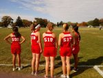 Girls Middle School Cross Country finishes 5th place at NWOAL Championships