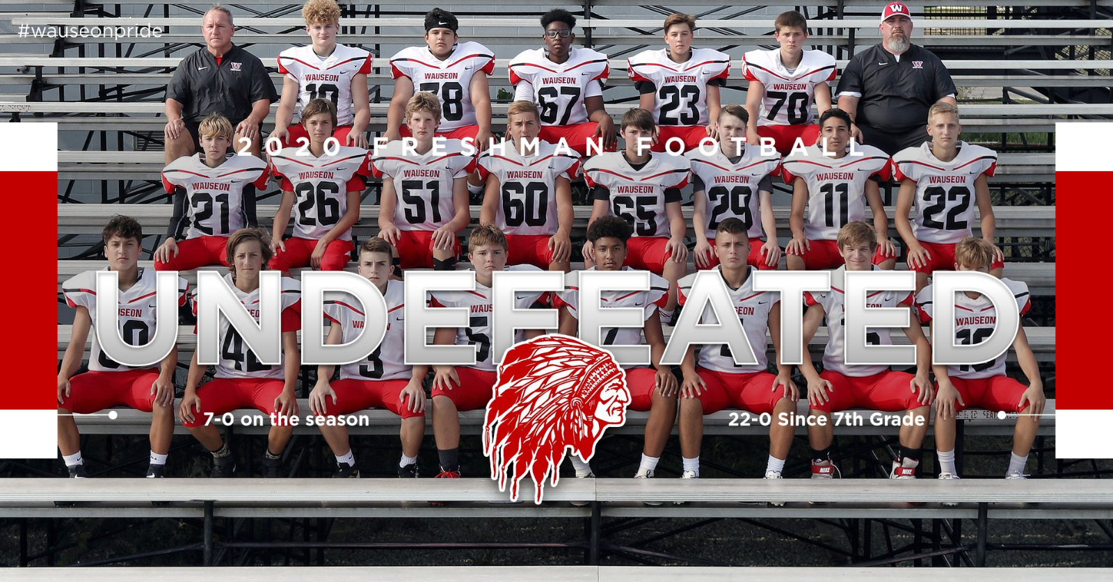 Class of 2024 Football Team Remains Undefeated