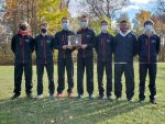 Boys Varsity Cross Country finishes 1st place at OHSAA D-II Districts lead by Braden Vernot