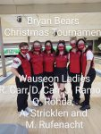 Girls Varsity Bowling finishes 3rd place at Bryan Bears Tournament